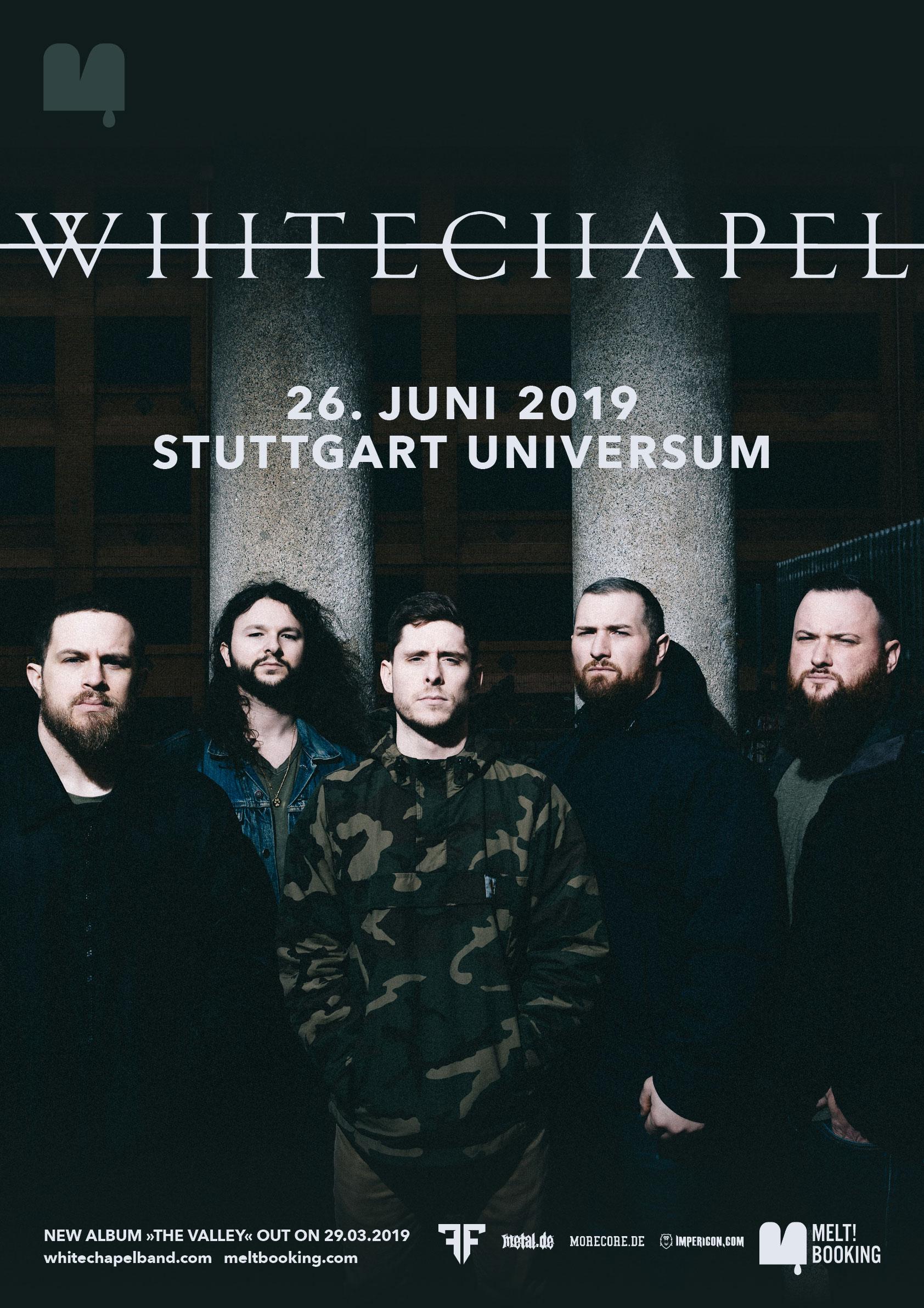 Webflyer Whitechapel live in Stuttgart 2019