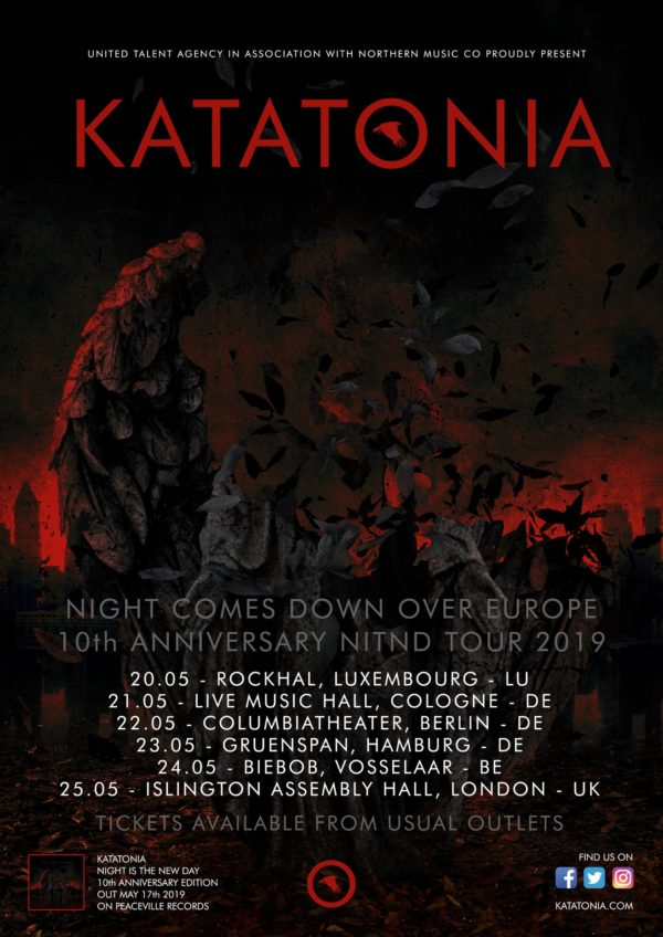 Katatonia Tour 2019
