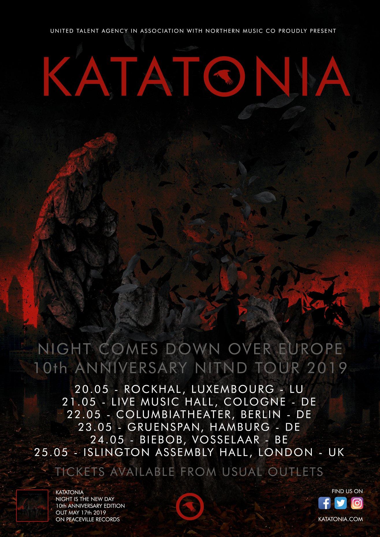 Katatonia Tour 2019