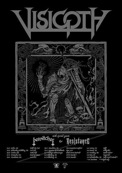 Visigoth - Europatour 2019