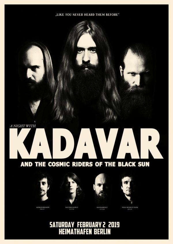 Kadavar & The Cosmic Riders Of The Black Sun