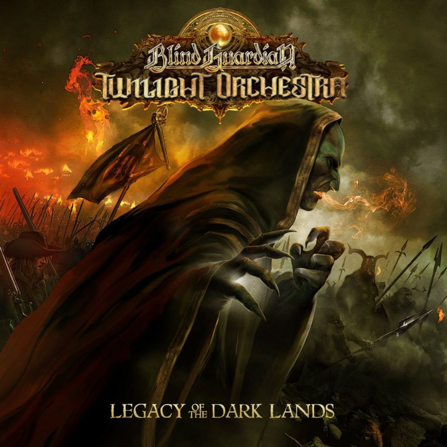"Cover zum Album ""Legacy Of The Dark Lands"" von Blind Guardian's Twilight Orchestra"