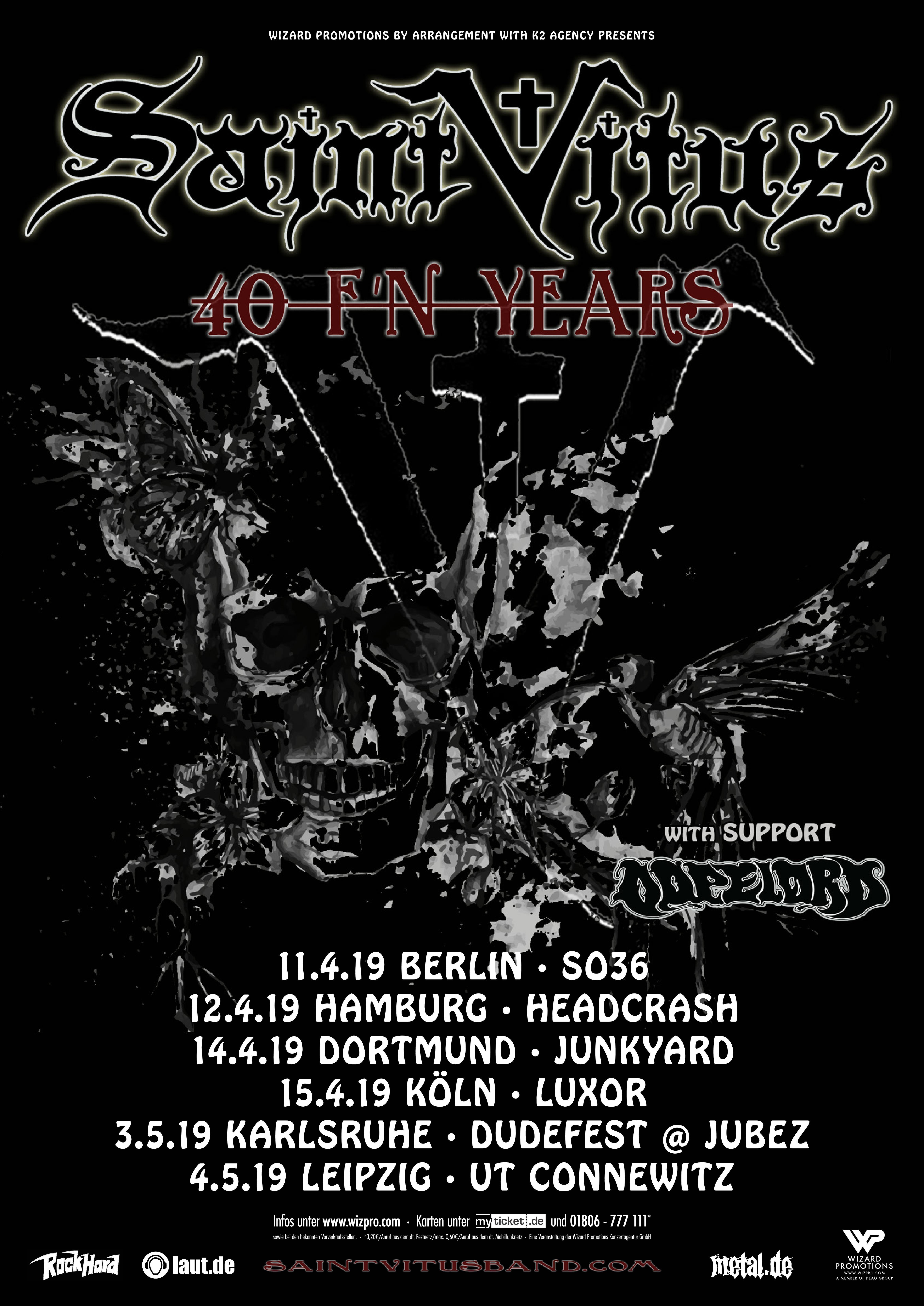 Saint Vitus Tour 2019