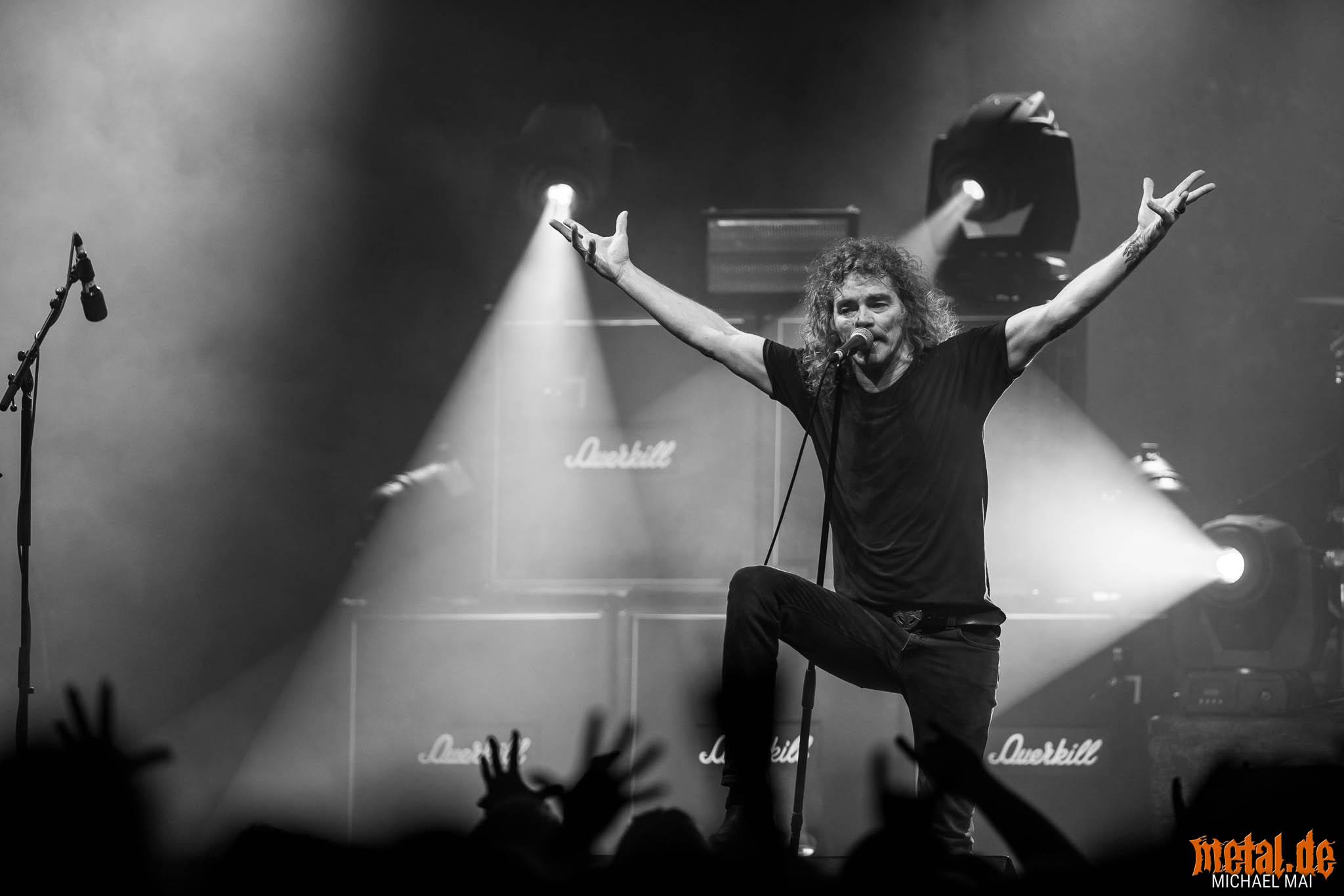 Konzertfoto von Overkill auf der Killfest Tour 2019