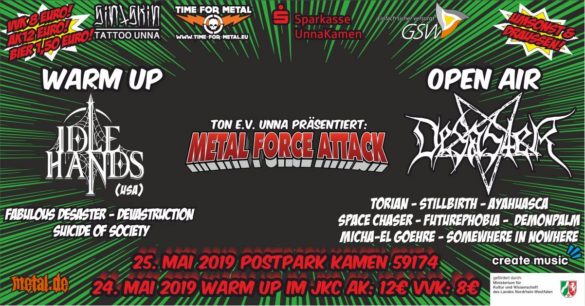 Bild: Metal Force Attack 2019 Flyer