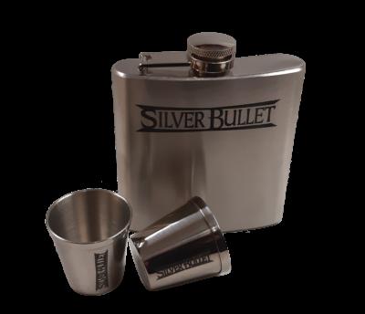 Silver Bullet Flachmann