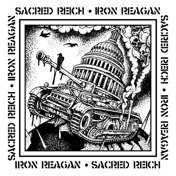 Sacred Reich - Iron Reagan - Split Single