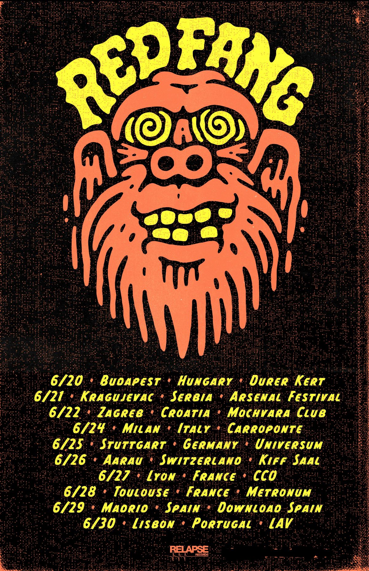 Red Fang Tour 2019