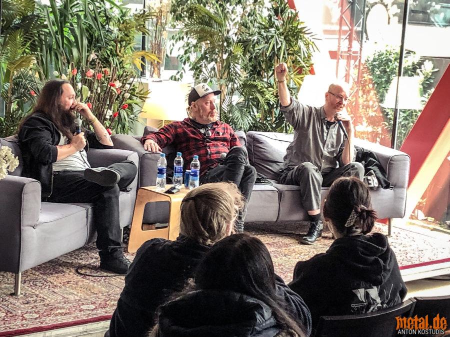 José Carlos Santos, Tomas Linderg und Walter Hoeijmakers