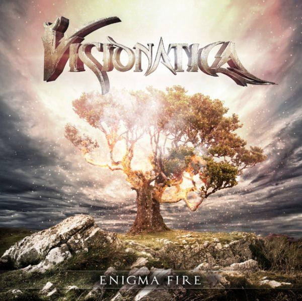 Cover Artwork Visionatica Enigma Fire Album 2019