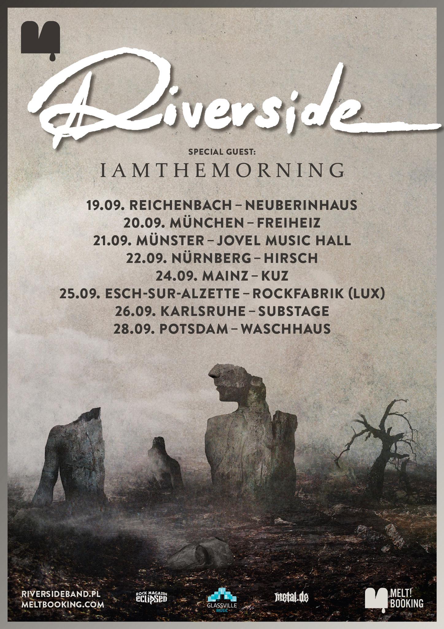 Tourposter Riverside Tour 2019