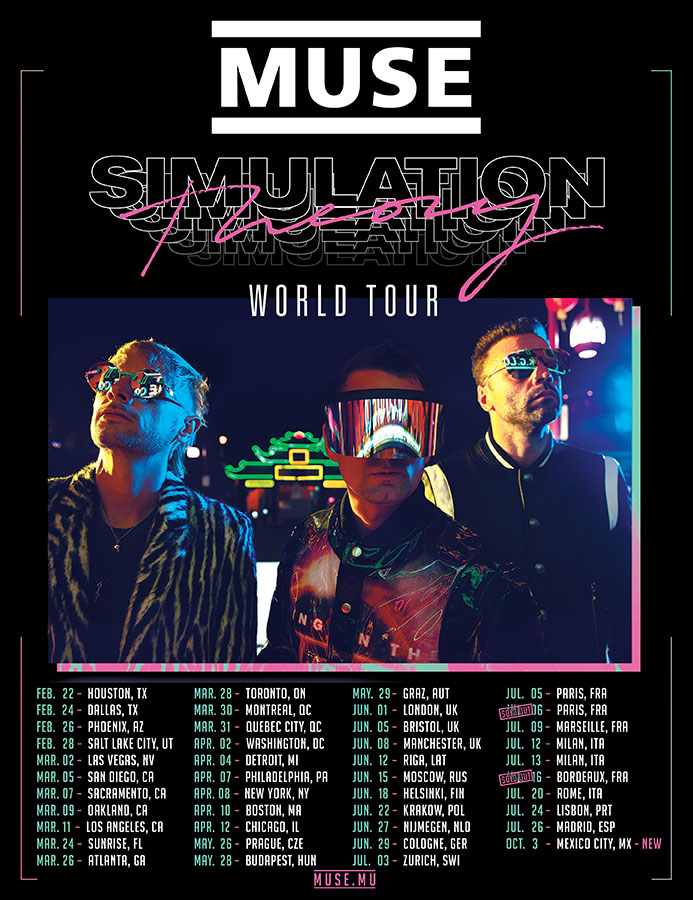Muse - World Tour 2019