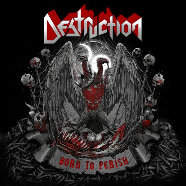 Destruction - Born To Perish - Cover