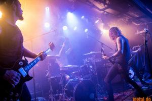 Konzertfoto von Downfall Of Gaia auf dem Dudefest 2019 Part I in Karlsruhe