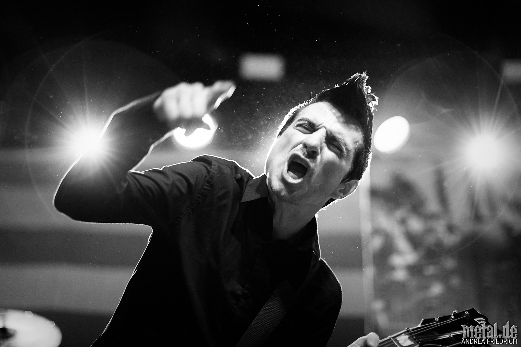 Konzertfoto von Anti-Flag - Donots 25th Birthday Slam in Berlin