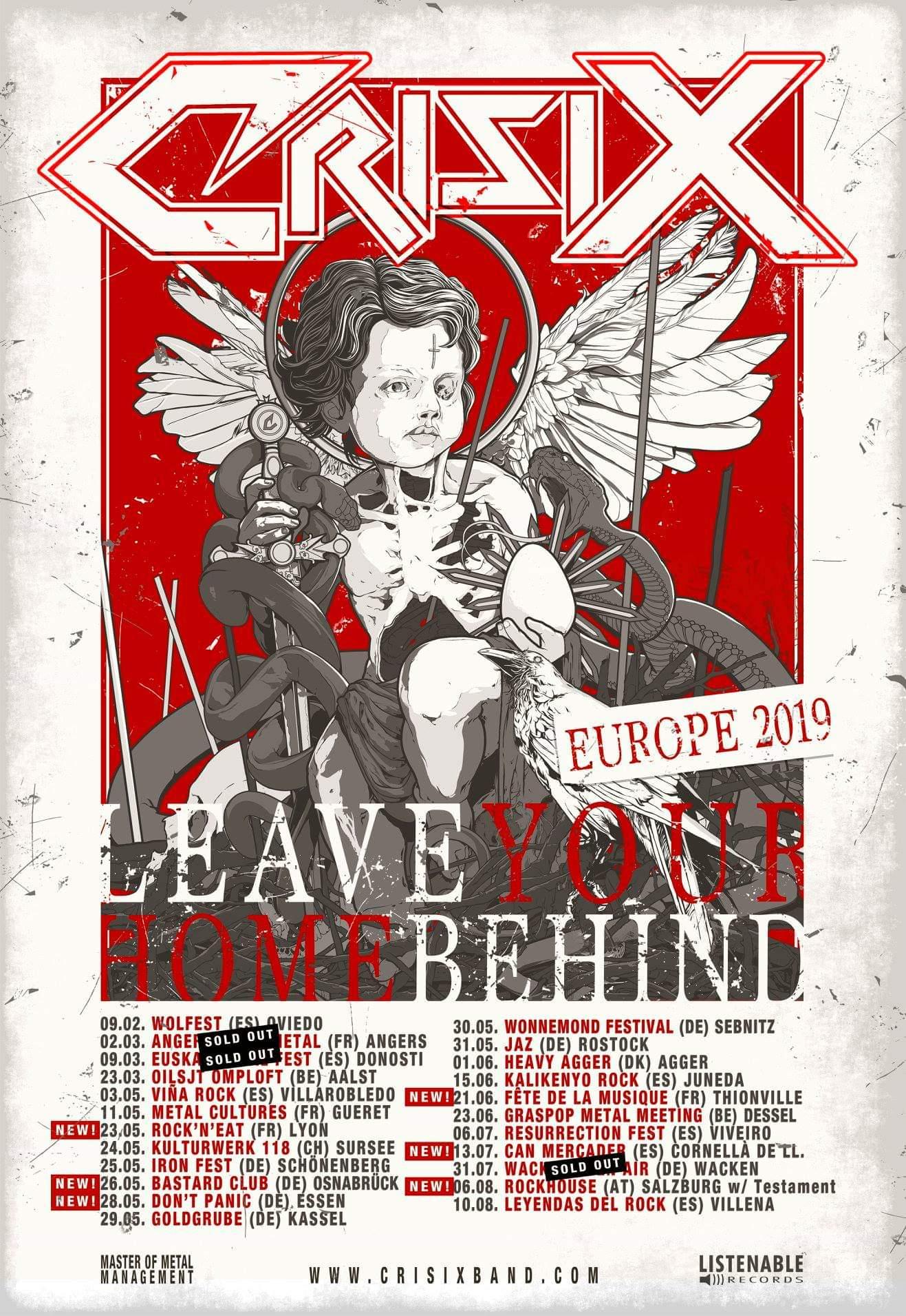 Bild: Crisix Tour 2019 Flyer