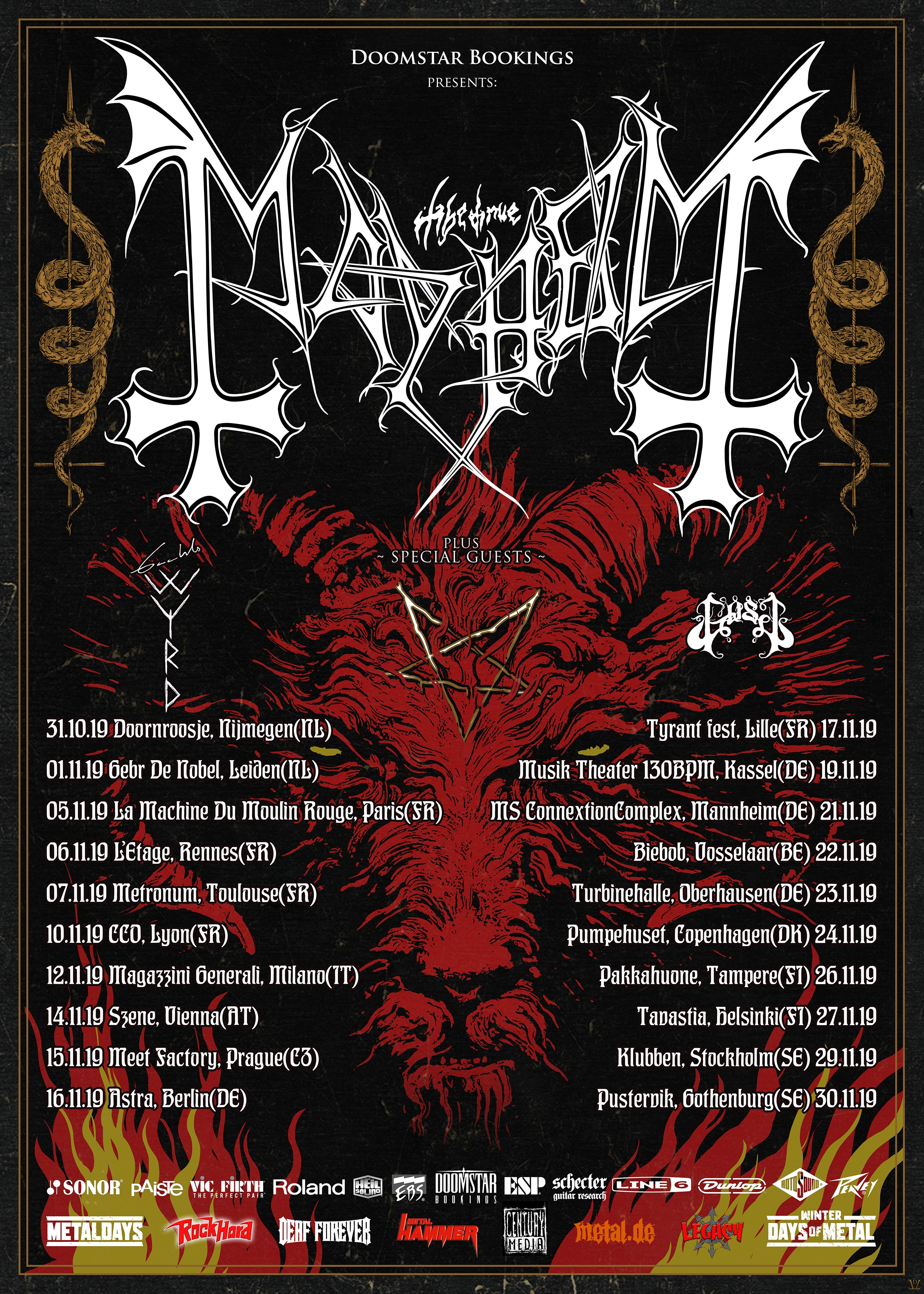 Mayhem Tour 2019