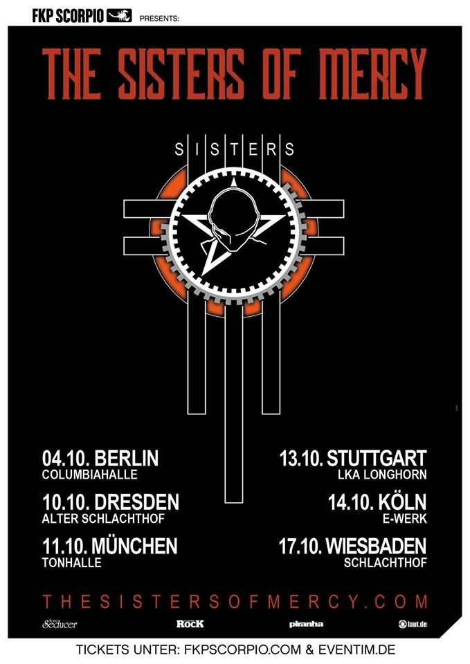 Flyer: The Sisters Of Mercy Tour 2019