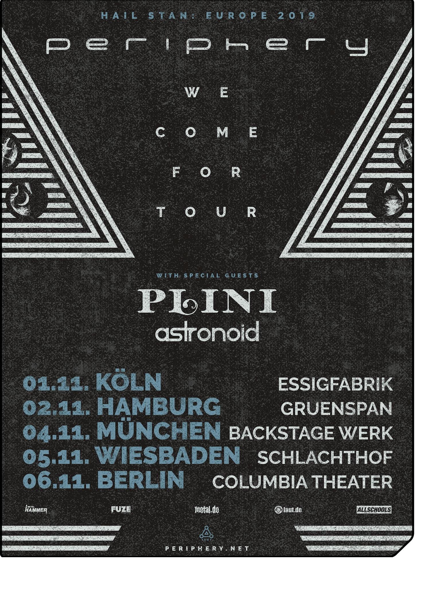 Periphery Hail Stan Europa Tour 2019