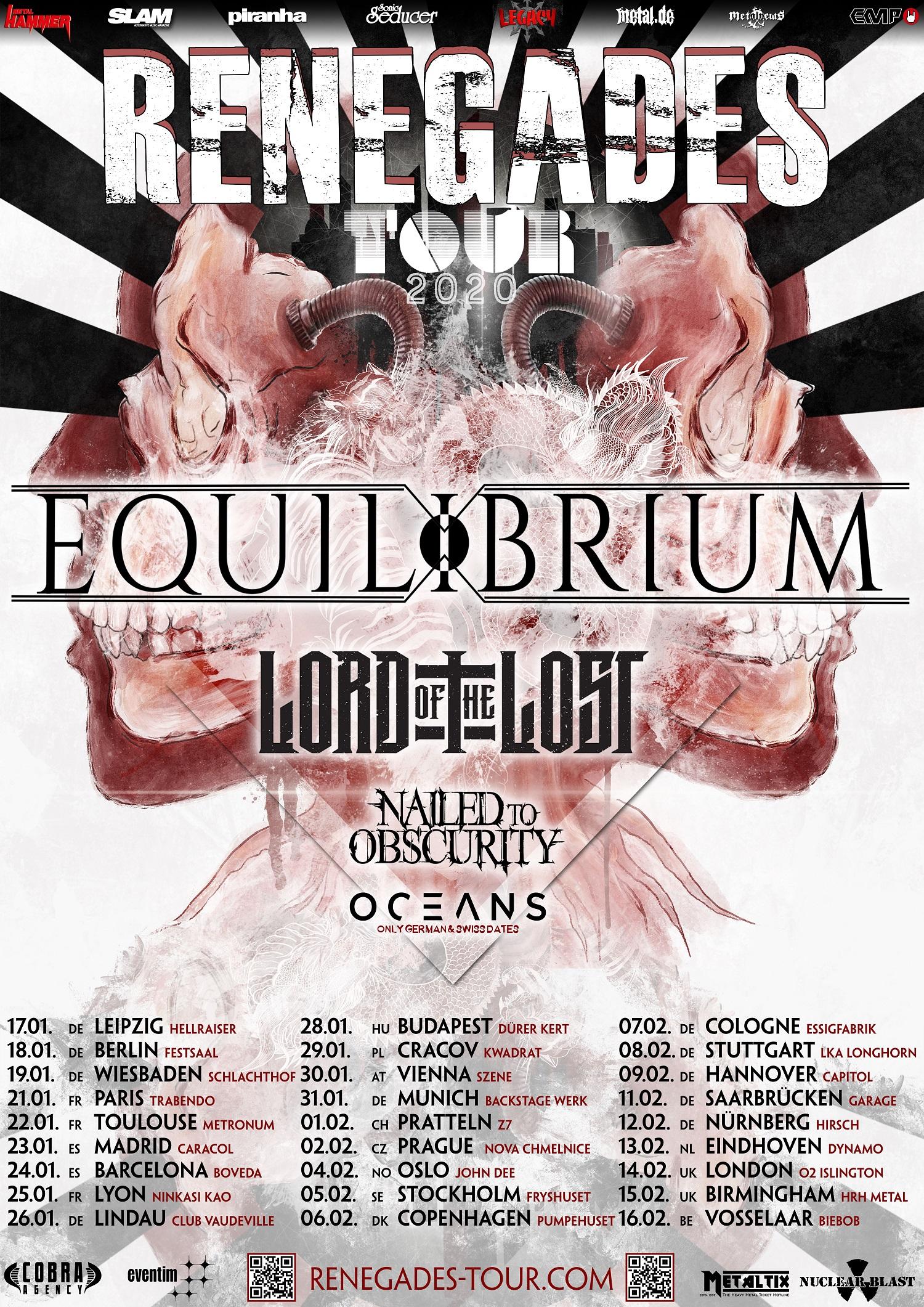 Bild Equilibrium - Renegades Tour 2020 Poster