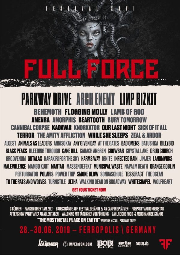 Flyer Full Force 2019