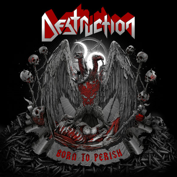 Album-Cover - Destruction - Born To Perish