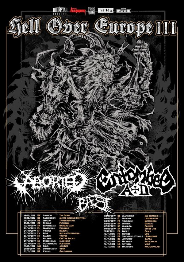 Aborted - Hell Over Europe Tour 2019