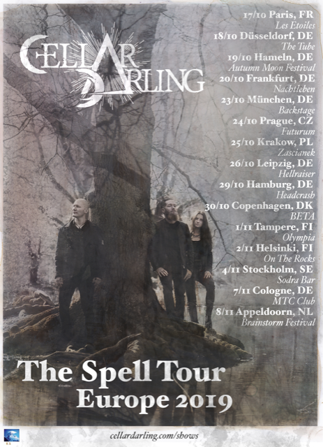 Cellar Darling - The Spell Tour 2019
