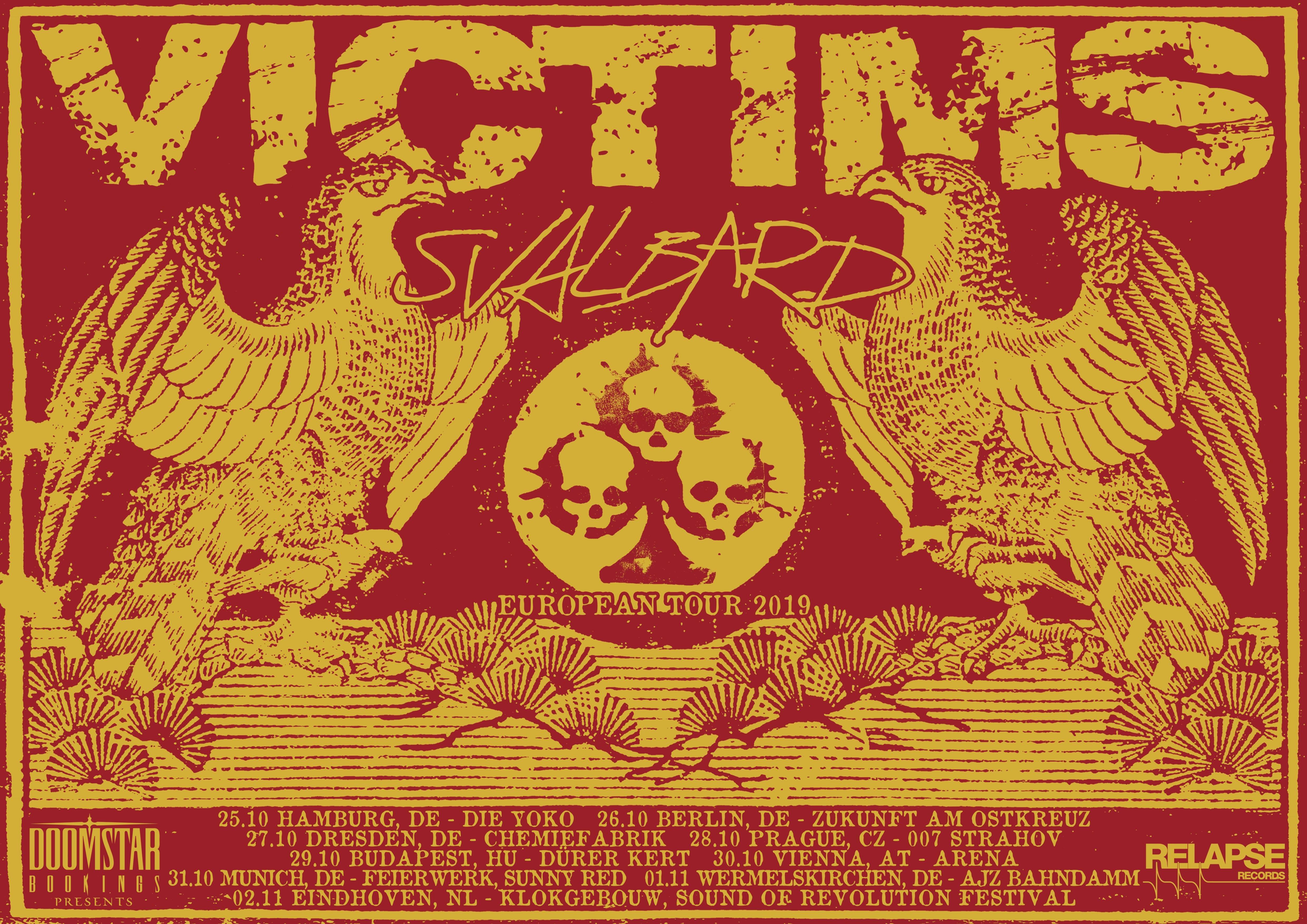 Victims Tour 2019