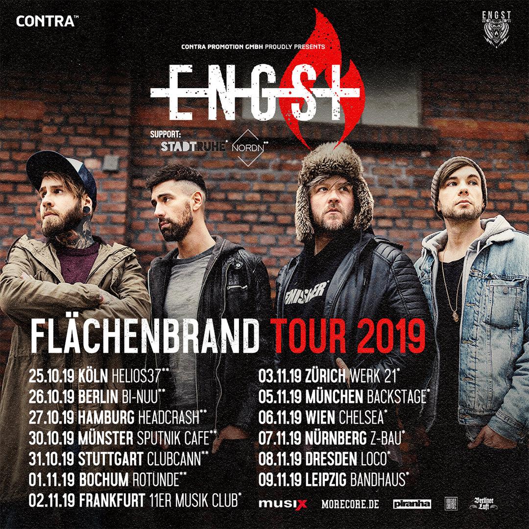 Engst - Flächenbrand Tour 2019