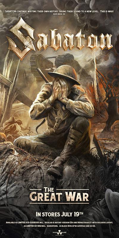 "Sabaton ""The Great War"" Bannerverlosung"