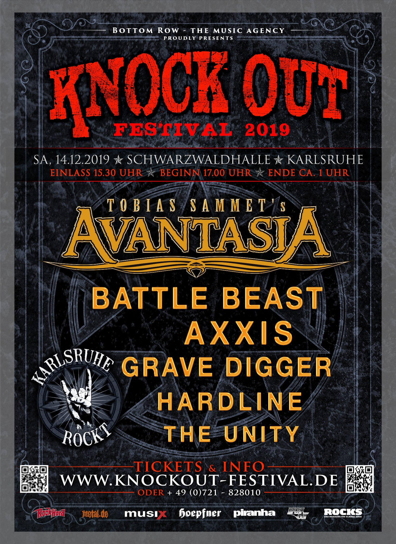 Knock Out 2019 Full Line Up