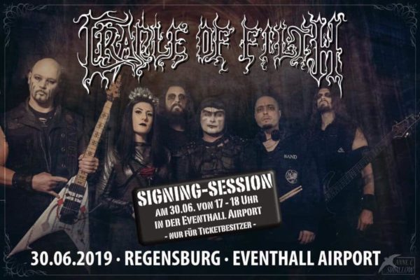 Bild Cradle Of Filth - Ankündigung Signing Session