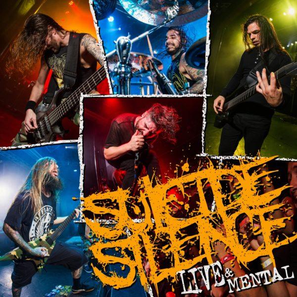 Cover Artwork Suicide Silence Live & Mental Album 2019