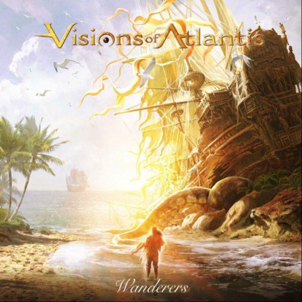 """Cover-Artwork zum Album """"Wanderers"""" von Visions Of Atlantis"""