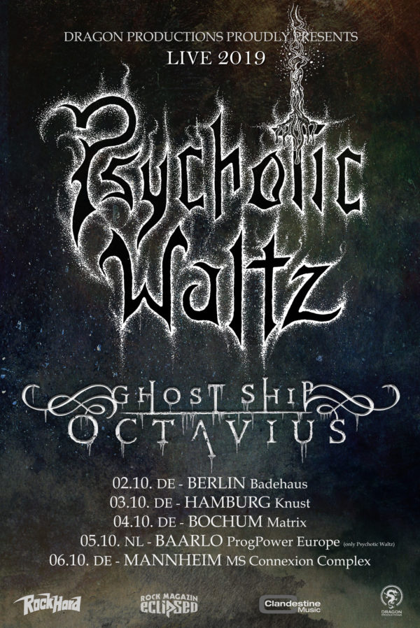 Psychotic Waltz - Tour 2019