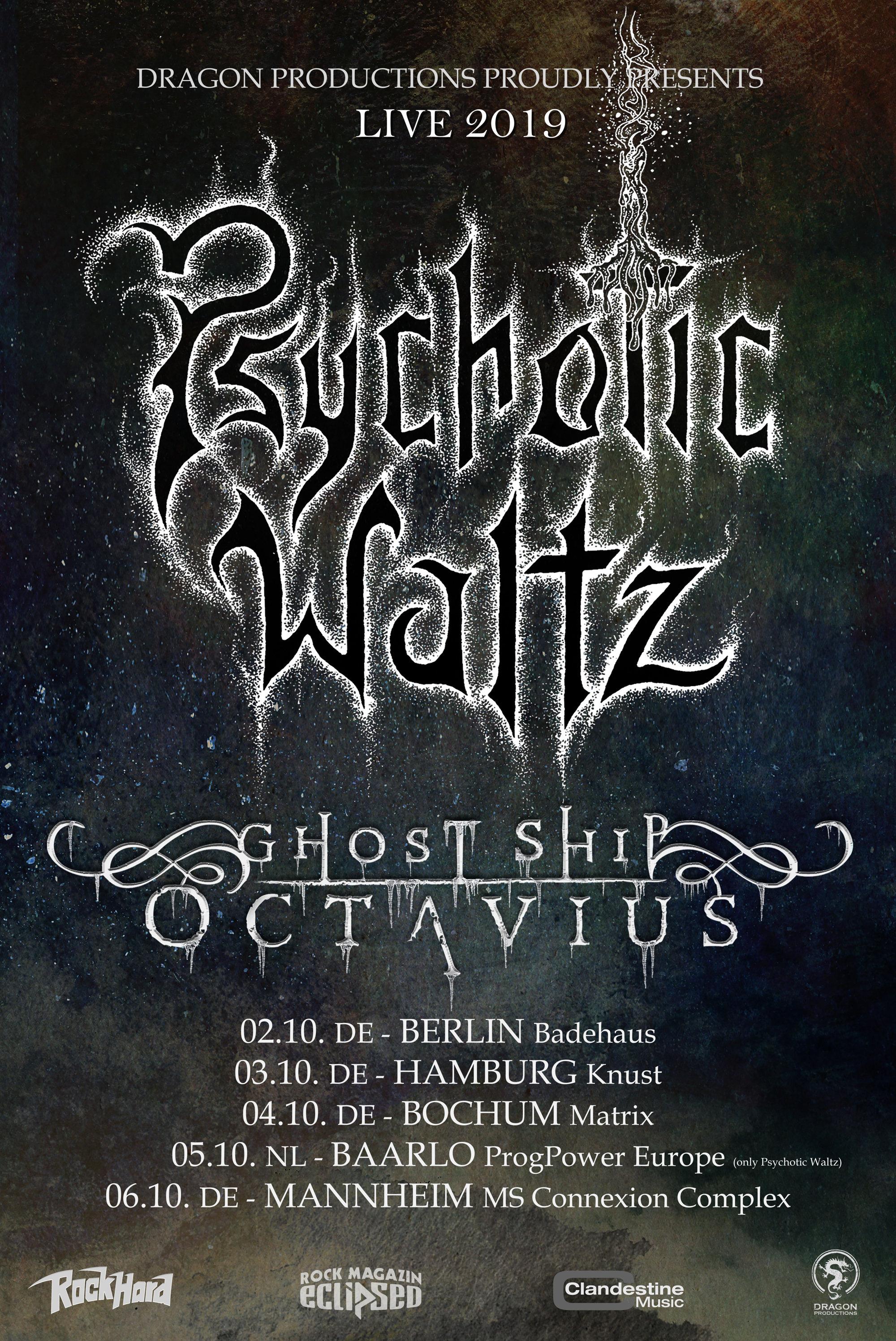 Psychotic Waltz - Tour 2019
