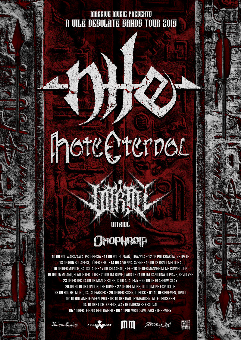 NILE - Tourposter