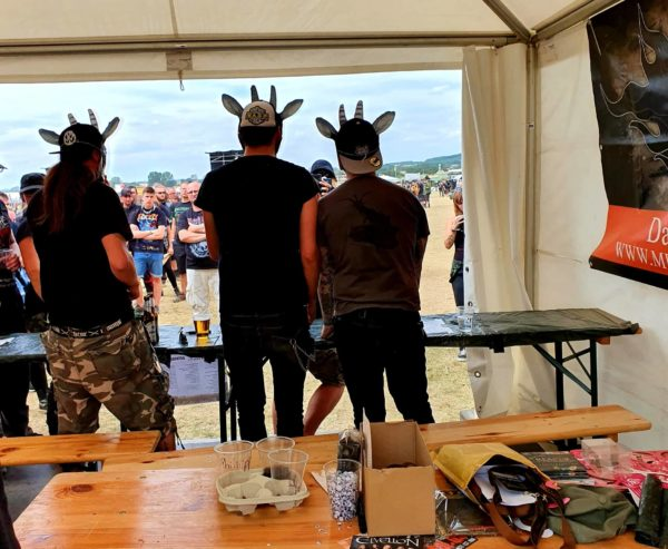 Rockharz 2019 Milking the Goatmachine