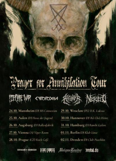 Necrotted - Tourplakat 2019