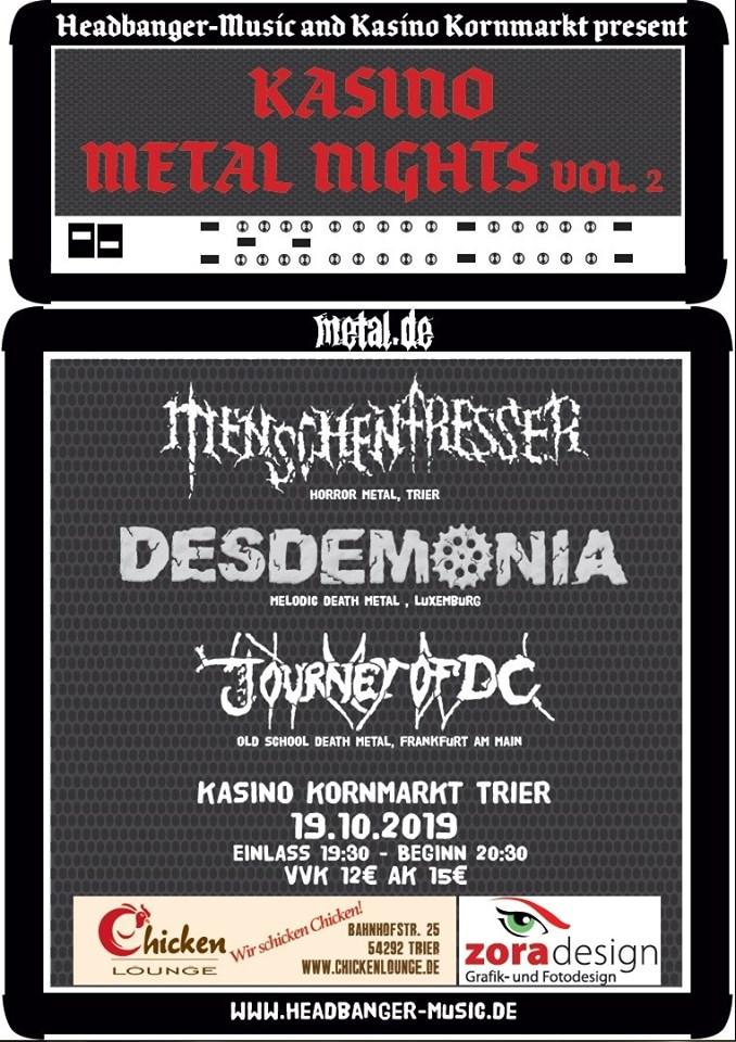 Kasino Metal Nights Vol.2