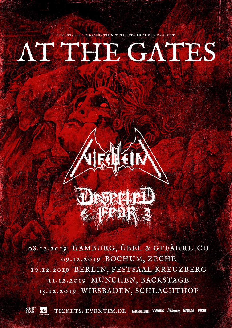 At The Gates - Tour 2019