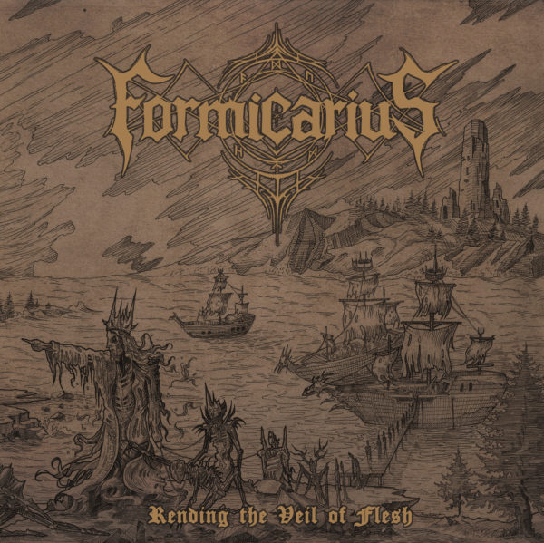 "Formicarius - ""Rending The Veil Of Flesh""-Artwork"