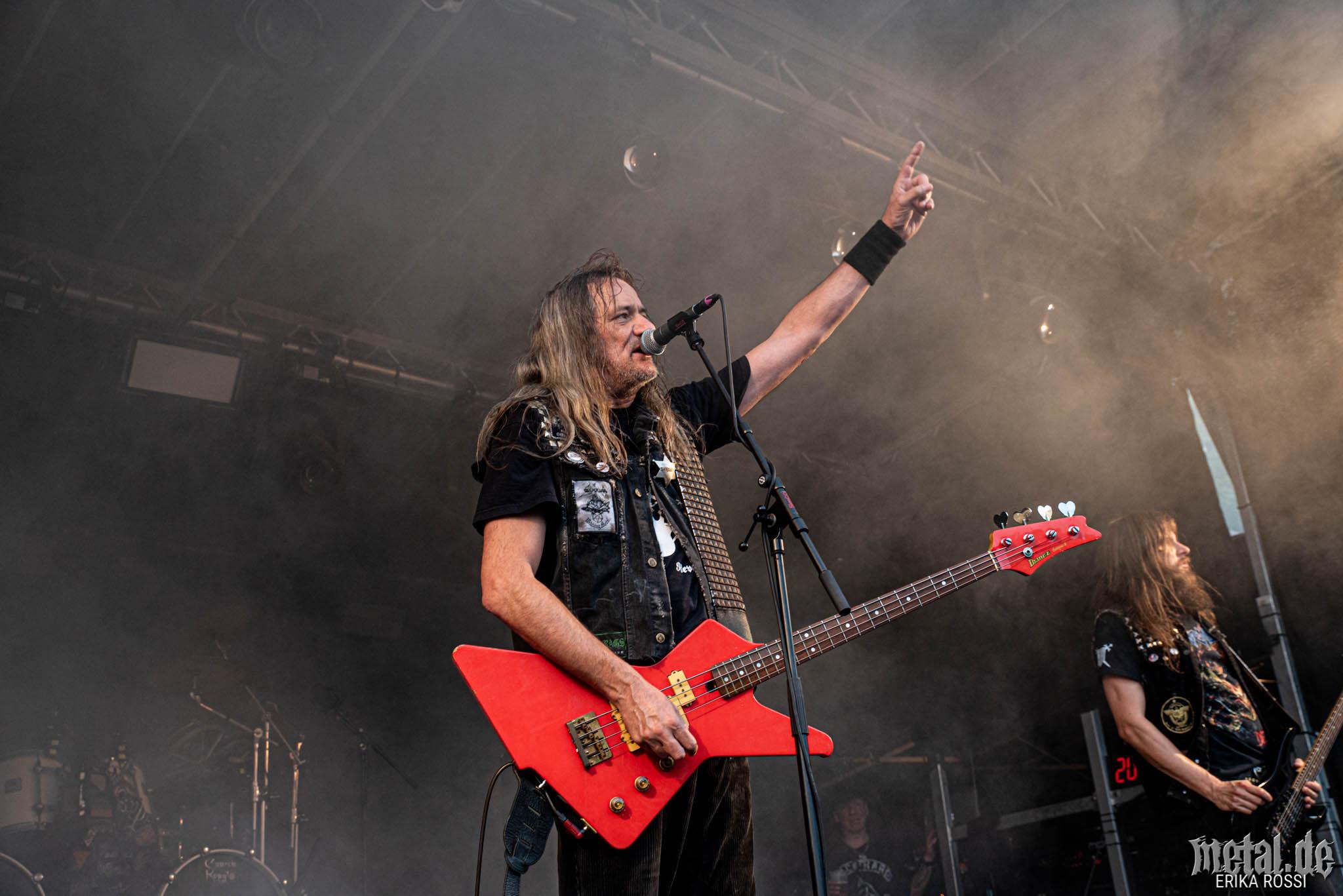 Konzertfoto von Sodom - Baden In Blut 2019
