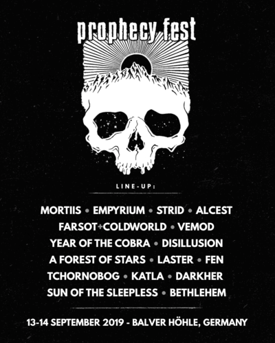 Prophecy Fest 2019 - Line Up