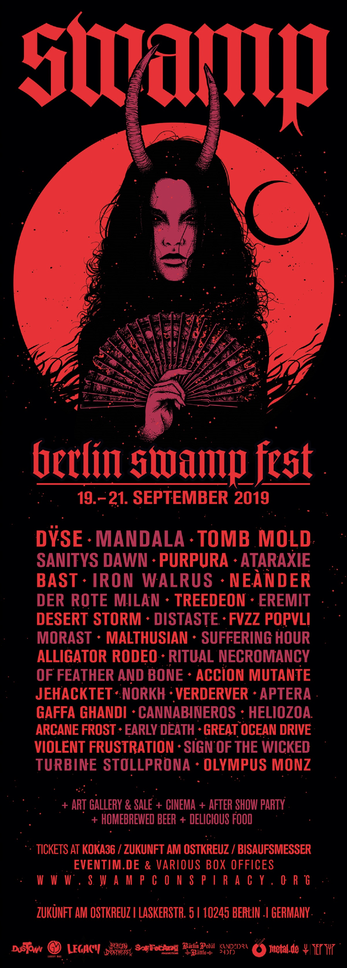 Berlin Swamp Fest 2019