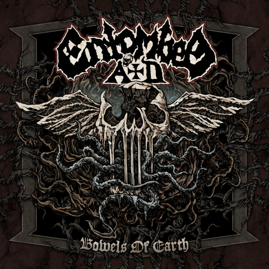 Albumcover Entombed A.D. - Bowels Of The Earth