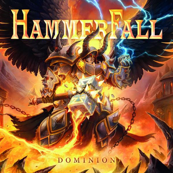 """Cover Artwork von """"Dominion"""" von HAMMERFALL"""