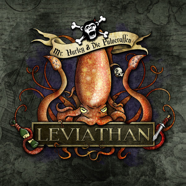 Mr. Hurley & Die Pulveraffen - Leviathan (Cover Artwork)