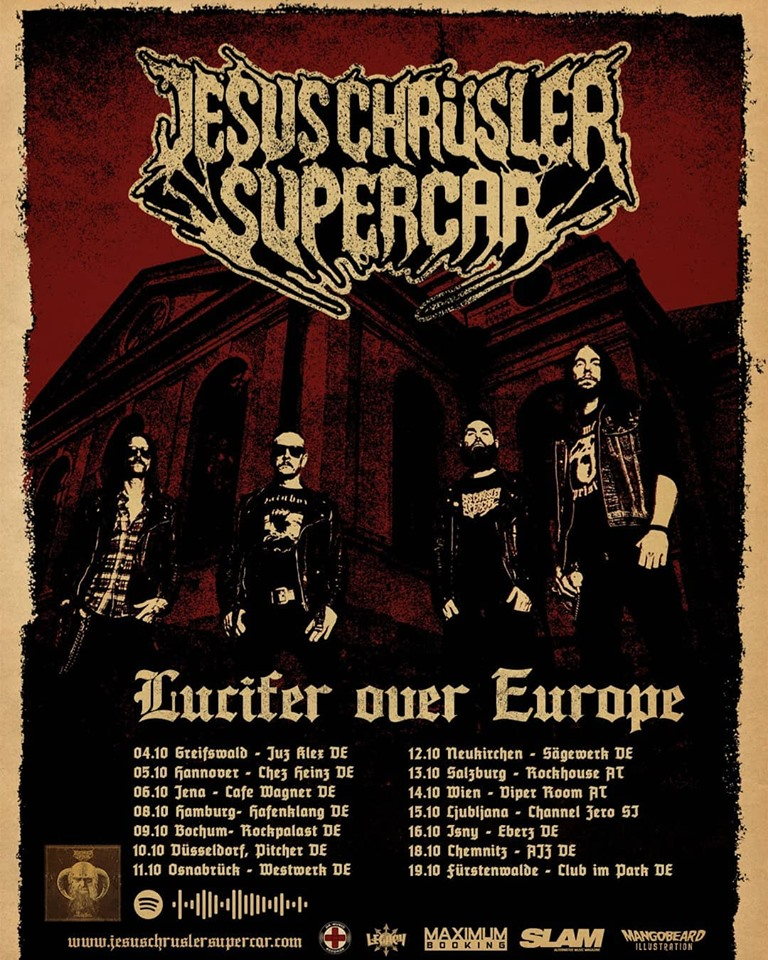Jesus Chrüsler Supercar - Lücifer Over Europe 2019